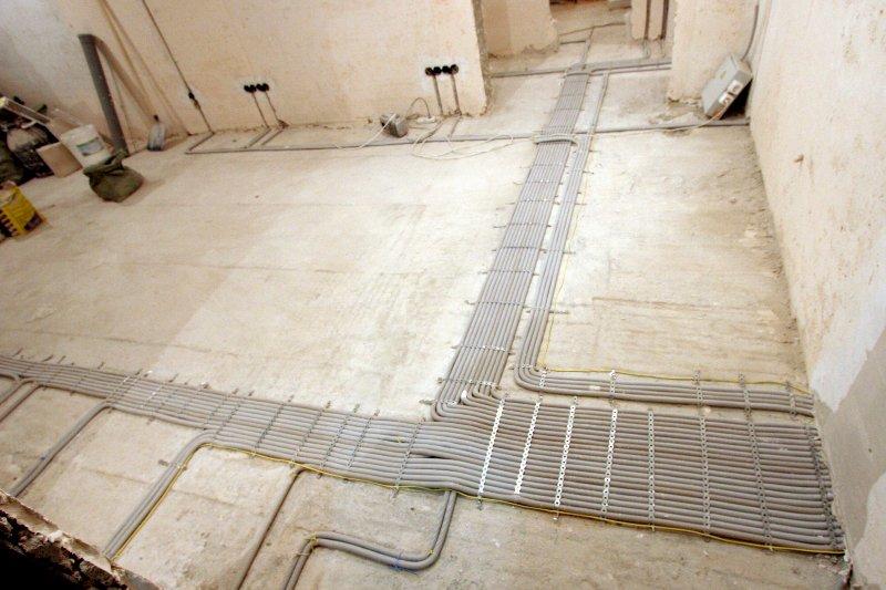 Разводка электропроводки в новостройке