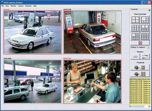 Использование систем видеонаблюдения на АЗС