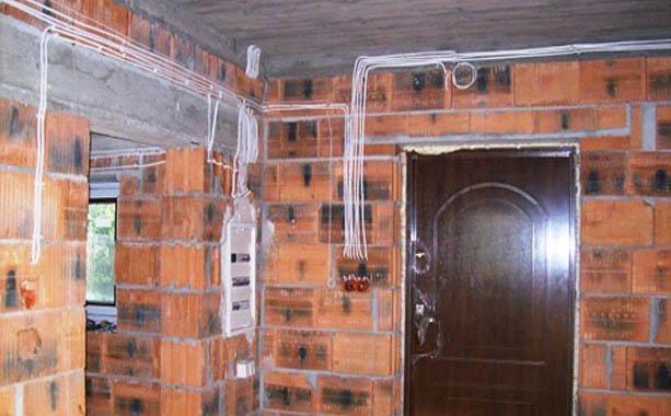 Электропроводка в доме фото