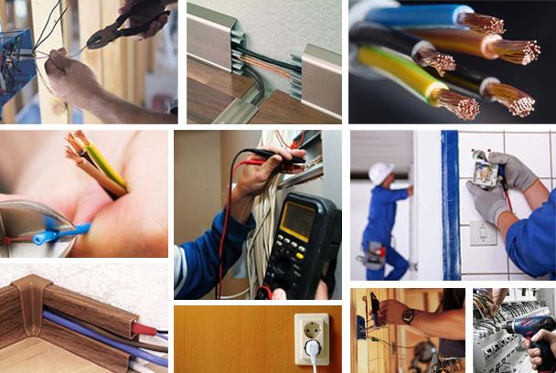 Основные критерии выполнения работ по монтажу электрики
